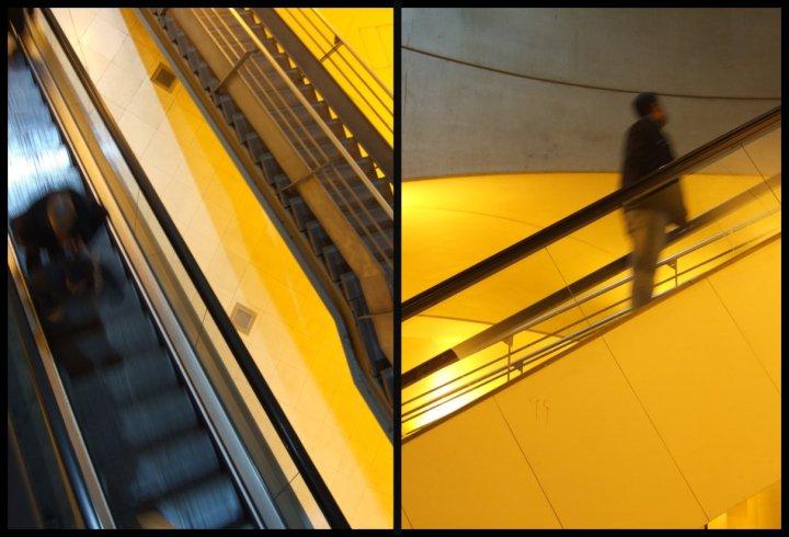 Correspondances-escalator