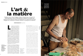 Francois Azambourg - Air France Magazine - crédit Arnaud Rodriguez