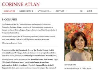 Corinne Atlan - site web